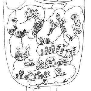 """Илюстрация от книгата""""Чарво с чар"""""""