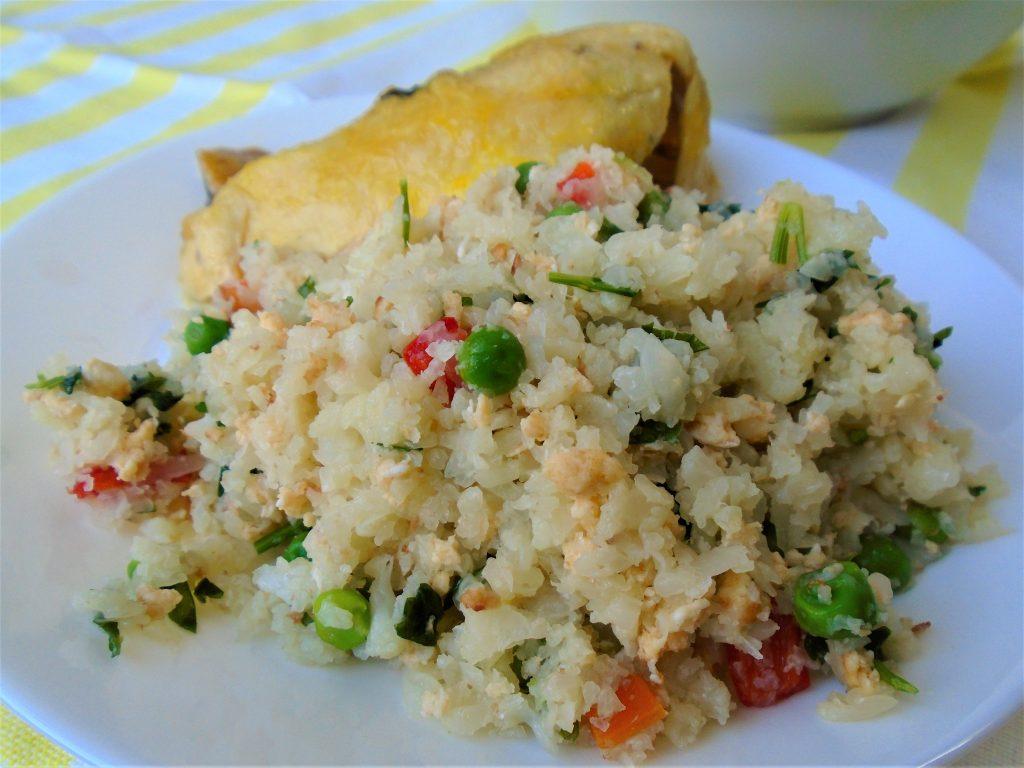 Ориз от карфиол по китайски