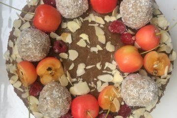 Ябълкова торта - без глутен, без захар, без млечни, без яйца, без ядки - подходяща за деца и хора